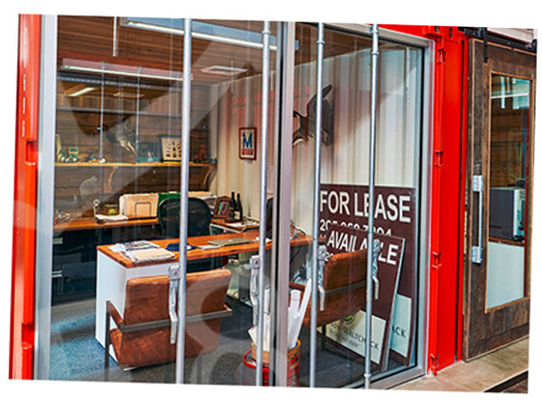 Red container office for let south london
